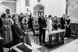 Boda en Béjar de Vanessa y Jorge realizada por Johnny García, fotógrafo de bodas en Béjar. Foto del altar.