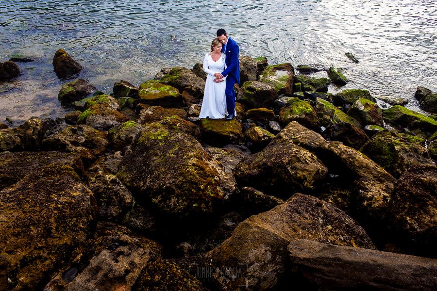 Boda en Villaviciosa de Carmen y David realizada por el fotógrafo de bodas en Asturias Johnny García. Foto de postboda en Asturias.