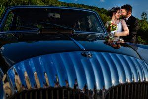 Boda en el Rincón de Castilla de Isa y Juan, realizada por el fotógrafo de bodas en Béjar Johnny García, retrato de los novios.