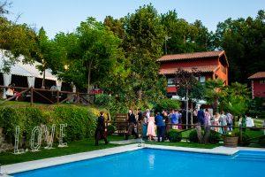 Boda en el Rincón de Castilla de Isa y Juan, realizada por el fotógrafo de bodas en Béjar Johnny García, una foto de la finca de bodas.