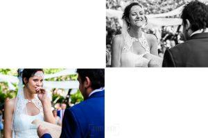 Boda en Segura de Toro de Araceli y César, captada fotográficamente por elfotógrafo de bodas en Cáceres Johnny García, momento del Sí, Quiero de los novios