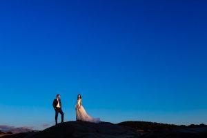 Boda en Hervás de Yolanda e Ignacio, foto realizada por el fotógrafo de bodas en Cáceres Johnny García. Una foto de la pareja.