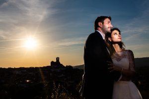 Boda en Hervás de Yolanda e Ignacio, foto realizada por el fotógrafo de bodas en Cáceres Johnny García. La sesión de pareja se realizó en Hervás al terminar la ceremonia.