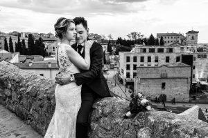 Boda en Puerto de Béjar de Susana y Benjamín, realizada por el fotógrafo de bodas en Guijuelo Johnny García. Retrato.