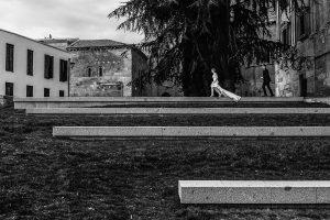 Boda en Puerto de Béjar de Susana y Benjamín, realizada por el fotógrafo de bodas en Guijuelo Johnny García. Foto artística de los novios.